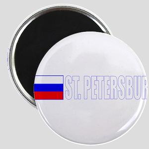 St. Petersburg, Russia Magnet