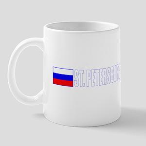 St. Petersburg, Russia Mug