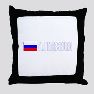 St. Petersburg, Russia Throw Pillow