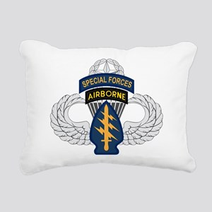 SF Airborne Master Rectangular Canvas Pillow