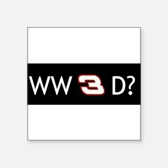 """Cute Dale Square Sticker 3"""" x 3"""""""