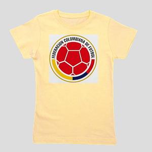 Futbol de Colombia Girl's Tee