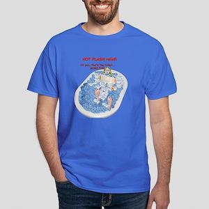 Hot Flash Tub of Ice Dark T-Shirt