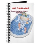 Hot Flash Tub of Ice Journal