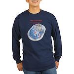 Hot Flash Tub of Ice Long Sleeve Dark T-Shirt