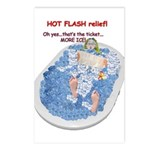 Hot Flash Tub of Ice Postcards (Package of 8)