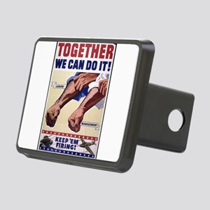 Together We Can Do It keep Em Firing Hitch Cover