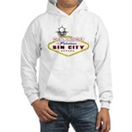 LAS VEGAS-SIN CITY SIGN-2 Hoodie