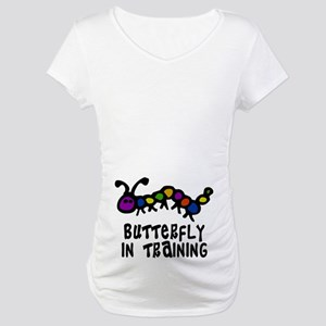Butterfly In Training Maternity T-Shirt