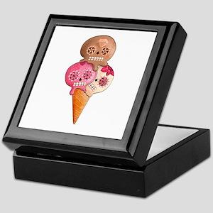 El Dia de Los Muertos Ice Cream Keepsake Box