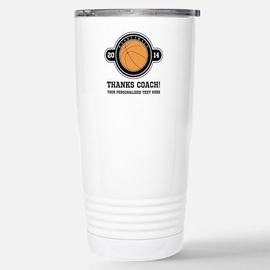 Thank you basketball coach Travel Mug