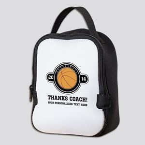 Thank you basketball coach Neoprene Lunch Bag