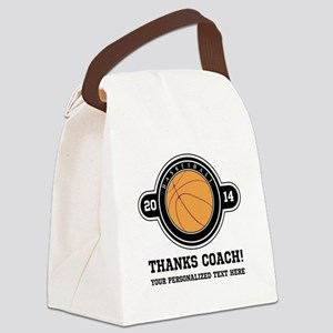 Thank you basketball coach Canvas Lunch Bag