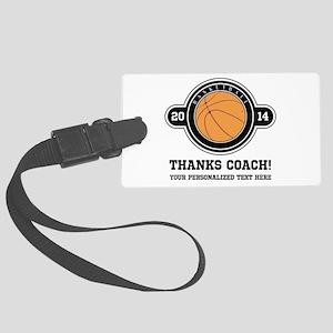 Thank you basketball coach Luggage Tag