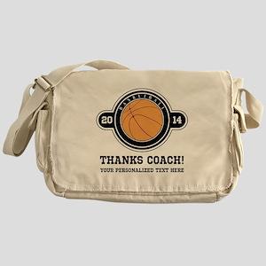 Thank you basketball coach Messenger Bag