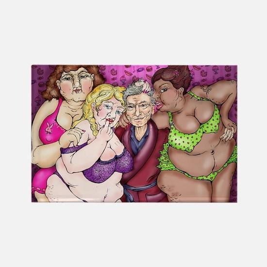 The Real Girls Next Door Magnets