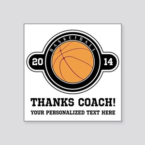 Thank you basketball coach Sticker