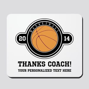 Thank you basketball coach Mousepad