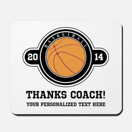 Thank you basketball coach Mousepad