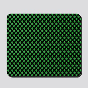 Meeple Pattern - Green Mousepad