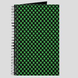 Meeple Pattern - Green Journal
