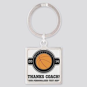 Thank you basketball coach Keychains