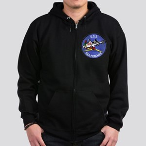 USS SEA POACHER Zip Hoodie (dark)