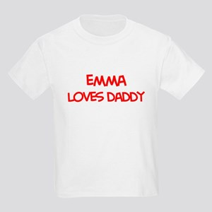 Emma Loves Daddy Kids Light T-Shirt