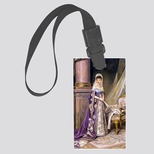 Makovsky: Empress Maria Fyodorov Large Luggage Tag