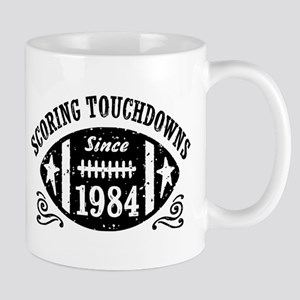 Football Birthday 1984 Mug