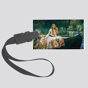 Waterhouse: Lady of Shalott Large Luggage Tag