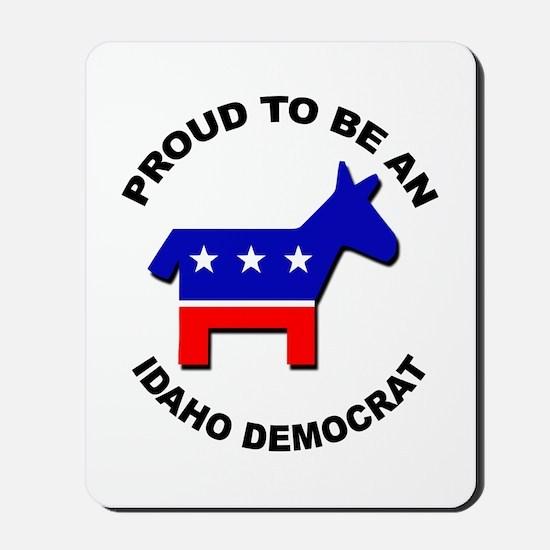 Proud Idaho Democrat Mousepad