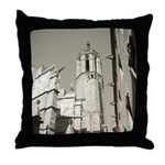 Gargoyles of La Catedral Throw Pillow