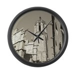 Gargoyles of La Catedral Large Wall Clock