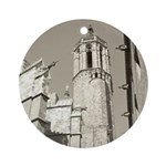 Gargoyles of La Catedral Ornament (Round)