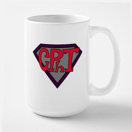 Superhero Technician Large Mug