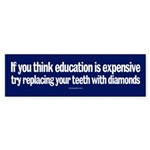 Education bumpersticker