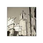 Gargoyles of La Catedral Square Sticker 3