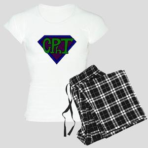 Superhero Technician Women's Light Pajamas