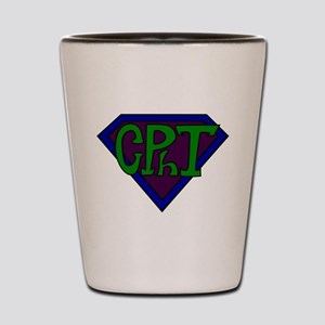 Superhero Technician Shot Glass