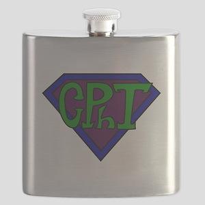 Superhero Technician Flask