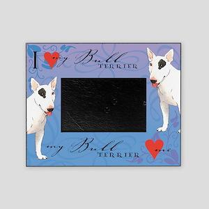 Bull Terrier Picture Frame
