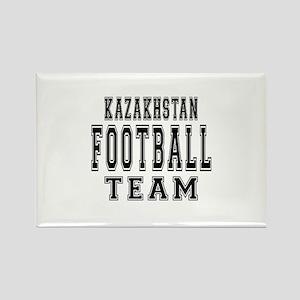 Kazakhstan Football Team Rectangle Magnet