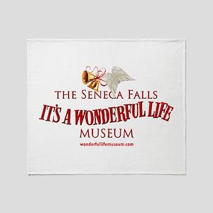 Wonderful Life Museum Throw Blanket