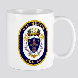 USS Mustin DDG-89 Mug