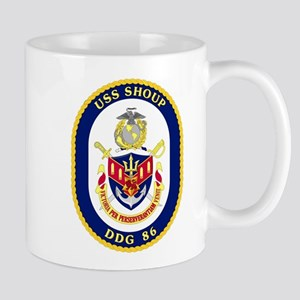 DDG 86 USS Shoup Mug