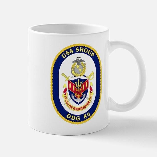 DDG 86 USS Shoup Mug