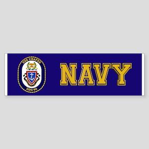 USS Chafee DDG-90 Sticker (Bumper)