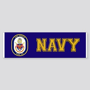 DDG 86 USS Shoup Sticker (Bumper)