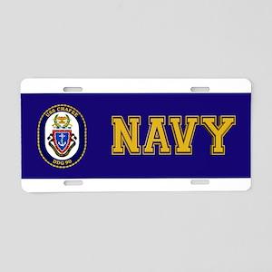 USS Chafee DDG-90 Aluminum License Plate
